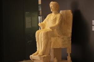 La dea in trono [fonte ANSA]