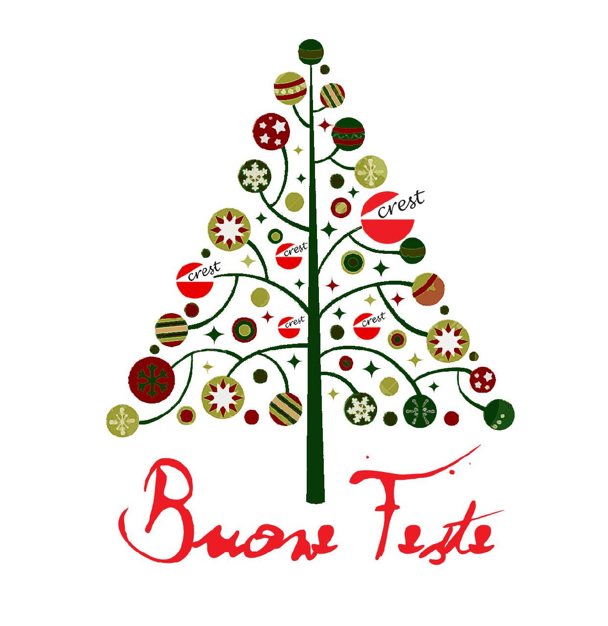 Albero Di Natale Stilizzato.Cooperativa Teatrale Crest Albero Di Natale Stilizzato